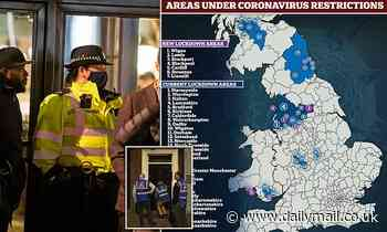 Could London be next to go into lockdown? Officers visit pubs to turf out drinkers before the curfew