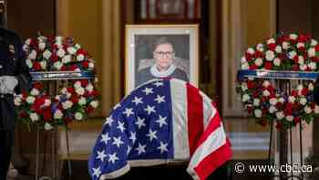 In tribute to Ginsburg, opera star sings and trainer does pushups as honours continue at U.S. capitol