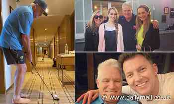Dean Jones' final hours revealed in touching video from Brett Lee