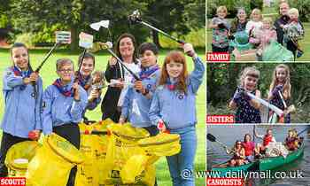 Our little litter heroes! How youngsters led way in the Mail's fight on Britain's rubbish scourge
