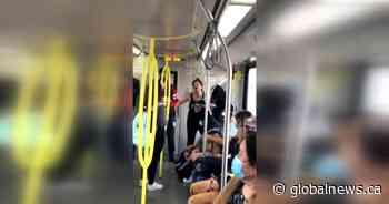 Explosive racist rant on Calgary CTrain captured on video