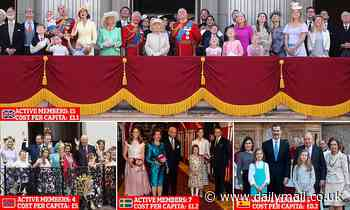British Royals: The Queen and family work harder and cost taxpayers less than European counterparts
