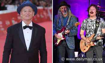 Bill Murray gets legal threat from pop group the Doobie Brothers for using song in an polo shirt ad