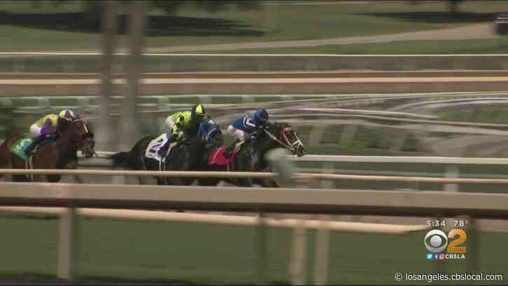 Horse Racing Returns To Santa Anita Park With Modifications