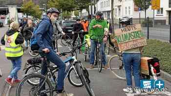 Lennestadt: Erste Fahrrad-Demo für mehr Klimaschutz - WP News