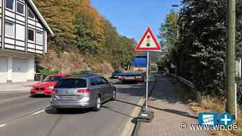 Lennestadt: Tagesbaustelle auf B 236 erzürnt die Autofahrer - WP News