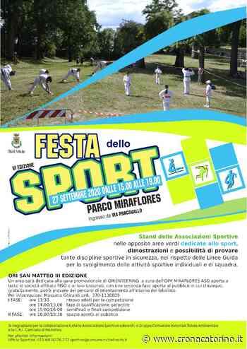 Festa dello Sport Nichelino 27 settembre 2020, info e dettagli - Notizie Torino - Cronaca Torino
