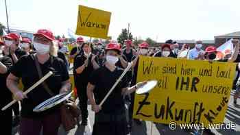 Conti-Werk vor dem Aus - Tausende demonstrieren