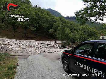 Frana a Bagnoli Irpino, bloccata la SP 143. Nubifragi ad Avellino e sull'Irpinia. Colpito il montorese - Nuova Irpinia