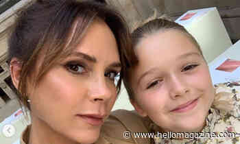 Victoria Beckham shares sweet photo of herself and Harper posing in bathtub