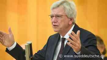 Bouffier stellt sich zur Wiederwahl als CDU-Landeschef - Süddeutsche Zeitung