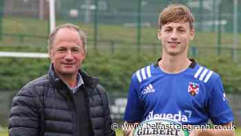 David Humphreys is happy for son to follow his footsteps