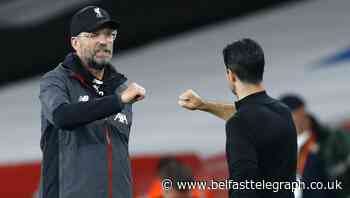 Jurgen Klopp confident against Arsenal despite Mikel Arteta's impact