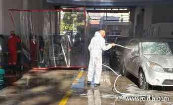 Para afrontar gastos, bomberos de Villa Ballester pusieron un lavadero de autos en el cuartel - Diario El Dia