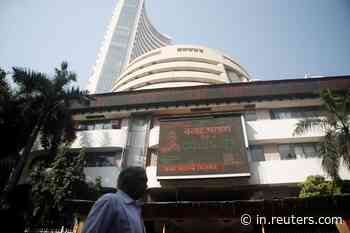 Sensex, Nifty end lower as virus fears dent sentiment - Reuters India