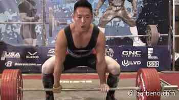 Yangsu Ren Deadlifts Jaw-Dropping 4.5x Bodyweight In Training - BarBend