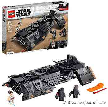LEGO Star Wars: The Rise of Skywalker Knights of Ren Transport Ship 75284 Spacecraft Set, Features Knights of Ren and Rey Minifigures to Role-Play Star Wars Missions, New 2020 (595 Pieces) - The Union Journal