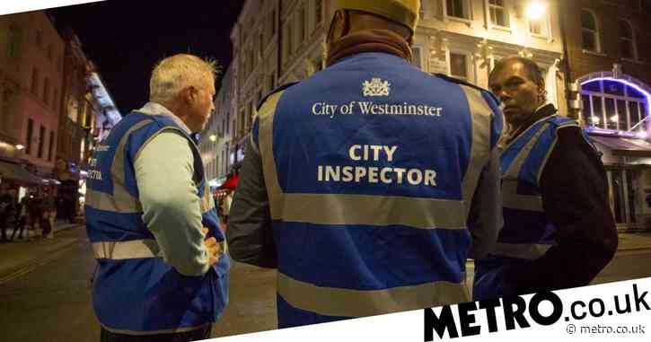 Lockdown inspectors peer through letter boxes to check for illegal speakeasies