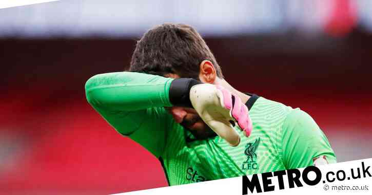 Alisson makes admission over Liverpool form ahead of Arsenal showdown
