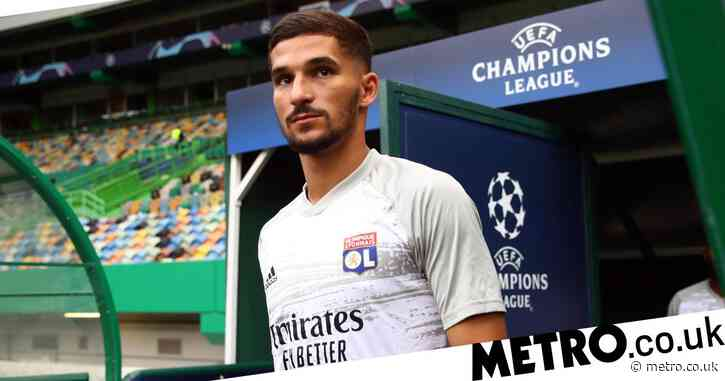 Lyon respond to rumours Arsenal have agreed transfer deal with Houssem Aouar