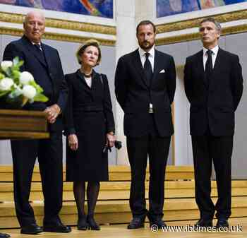 Queen Sonja gives update on King Harald's health; says he will be 'on his feet' soon