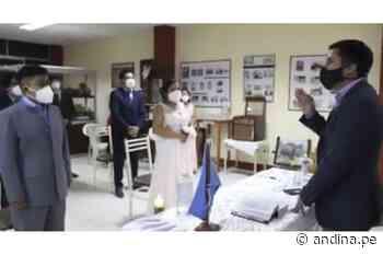Estado de emergencia: celebran primer matrimonio civil presencial en Ciudad Eten - Agencia Andina