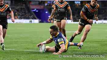 Live NRL: Eels spoil farewell party as Benji's Tigers career ends in heartbreak