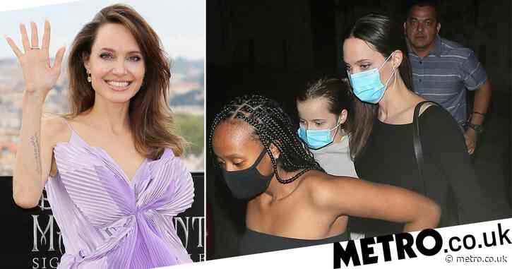 Angelina Jolie celebrates National Daughters Day with intimate dinner with Zahara and Vivienne