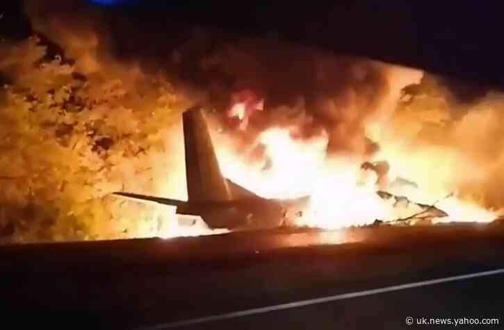 Ukraine plane crash death toll rises to 26, with 1 survivor