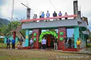 Junín: Rehabilitan local edil de centro poblado en Mazamari - INFOREGION