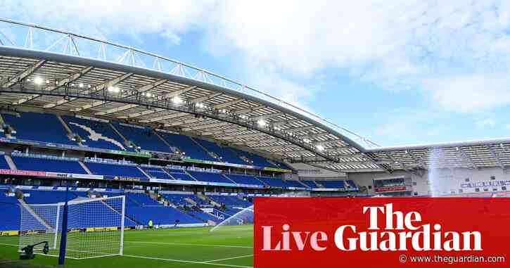 Brighton v Manchester United: Premier League – live