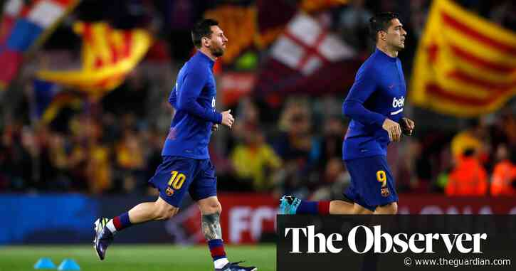 No sign of peace at Barcelona as Messi simmers and Suárez says goodbye | Sid Lowe