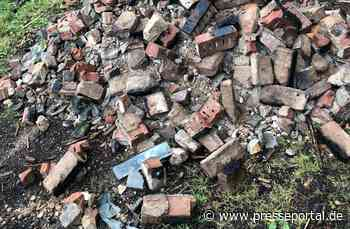 POL-PDMY: Illegale Bauschuttentsorgung