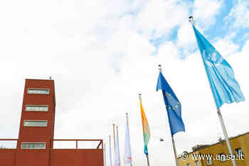 Università: bandiera Onu sventola all'Eurac di Bolzano - Agenzia ANSA
