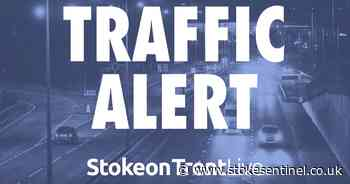 North Staffordshire road blocked due to two vehicle accident - Stoke-on-Trent Live