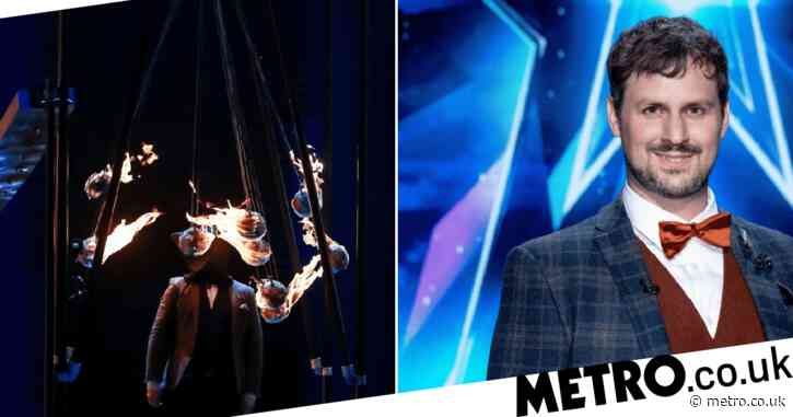 Britain's Got Talent magician Kevin Quantum promises more 'danger' in the semi-finals after first audition almost went wrong