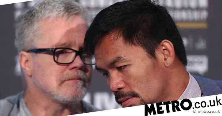 Freddie Roach makes ominous Conor McGregor vs Manny Pacquiao prediction