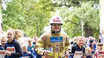 Hilfe für kranke Kinder: Hamburger Feuerwehrmann in Thüringen am Ziel von Benefizlauf