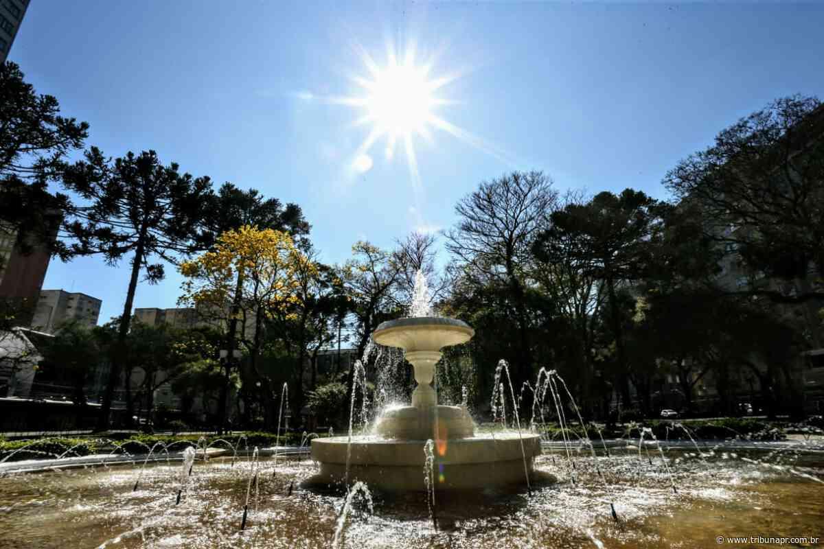 Sol e calor de 30ºC em Curitiba. Confira a previsão do fim de semana - Tribuna do Paraná