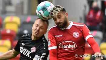 2. Bundesliga: Fortuna Düsseldorf schlägt die Würzburger Kickers mit 1:0