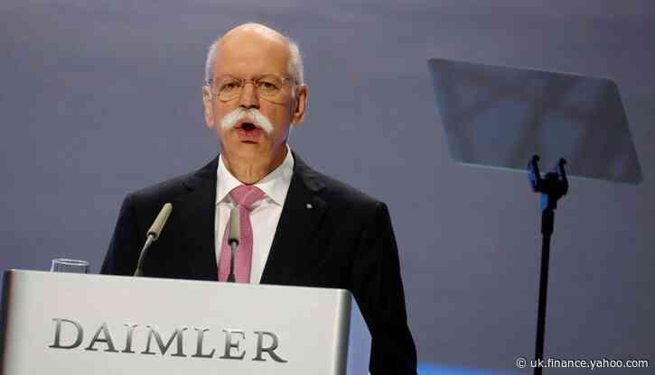 Daimler's designated chairman Zetsche tells newspaper he no longer wants the job