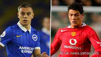 Trossard equals Ronaldo mark as Brighton hit woodwork incredible five times against Man Utd