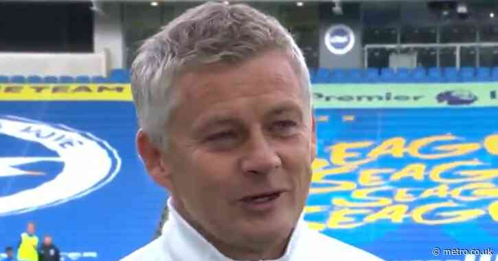 Ole Gunnar Solskjaer makes honest admission after Man Utd sneak victory at Brighton