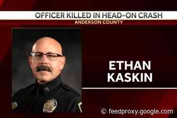 South Carolina Officer Killed in Head-On Crash