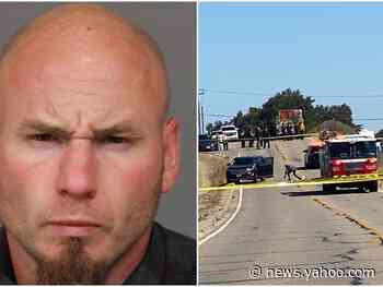 A white supremacist gang member was killed during a shootout with police in California