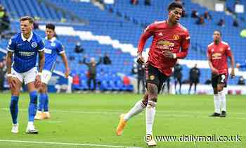 Marcus Rashford's incredible solo goal against Brighton leaves fans on social media stunned