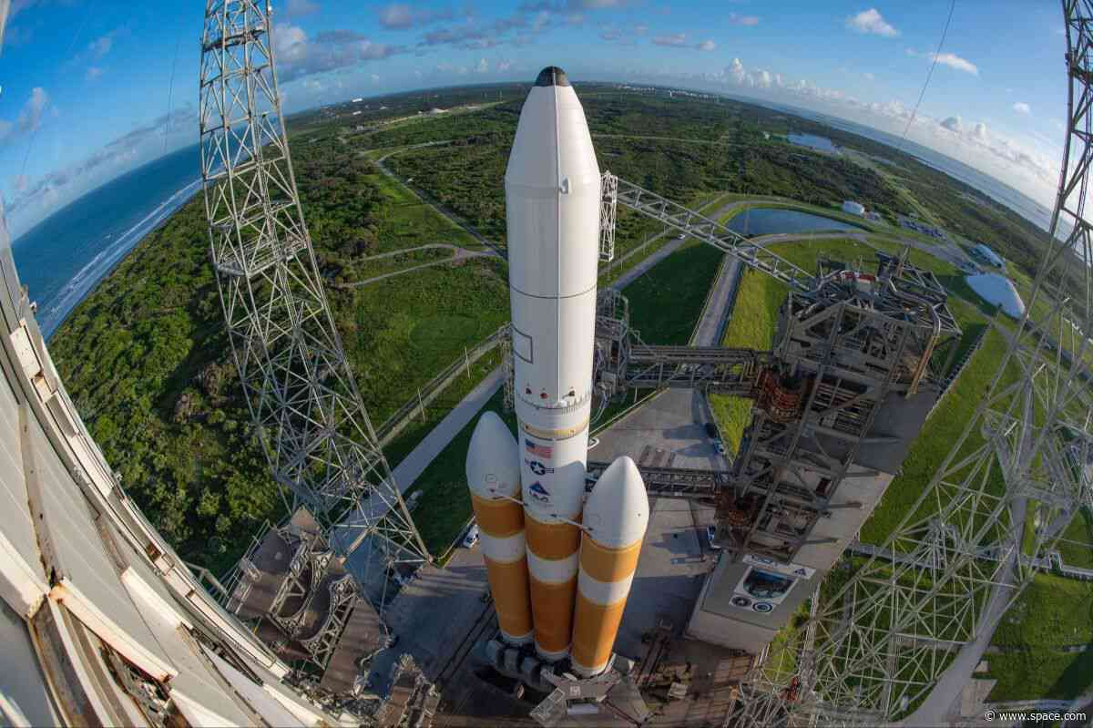 You can watch a US spy satellite launch on a giant Delta IV Heavy rocket overnight tonight. Here's how. - Space.com