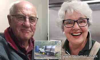 Married man and his companion who went missing on a secret camping trip could still be alive