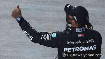Lewis Hamilton: My heart was in my mouth before securing Russian pole position
