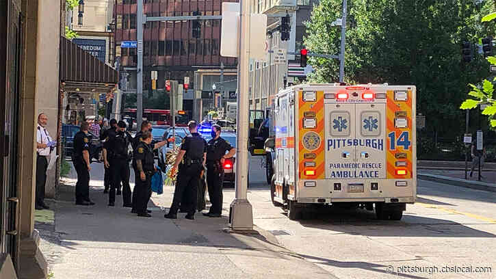 Police, Medics Respond To Shooting In Downtown Pittsburgh; Suspect Still At Large
